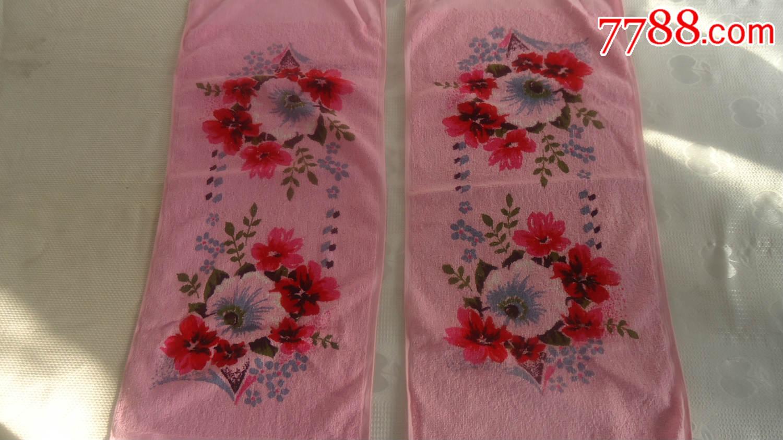 80年代国营南通毛巾厂,生产的老毛巾,连云港毛巾