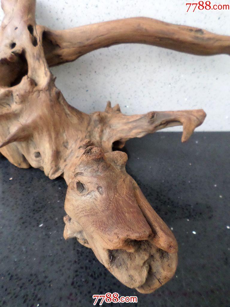 古玩杂项木制艺术品文玩类天然木雕根艺根雕家居装饰品自然原树根