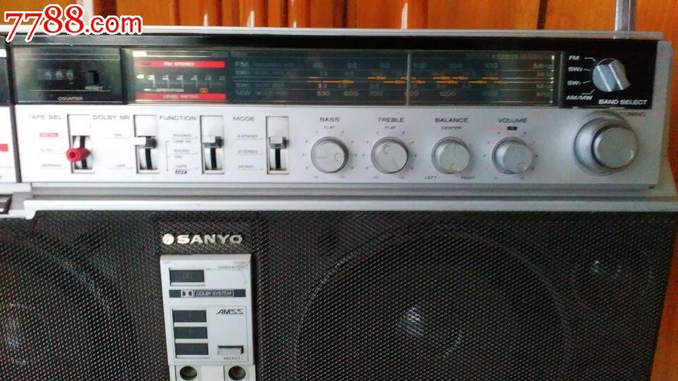 罕见sanyo-m-x650k日本原装三洋收录机,三洋录音机