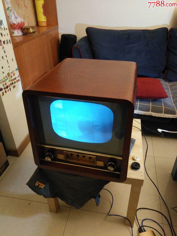 北京牌古董老電視機820中國最古老電子管電視機華夏第