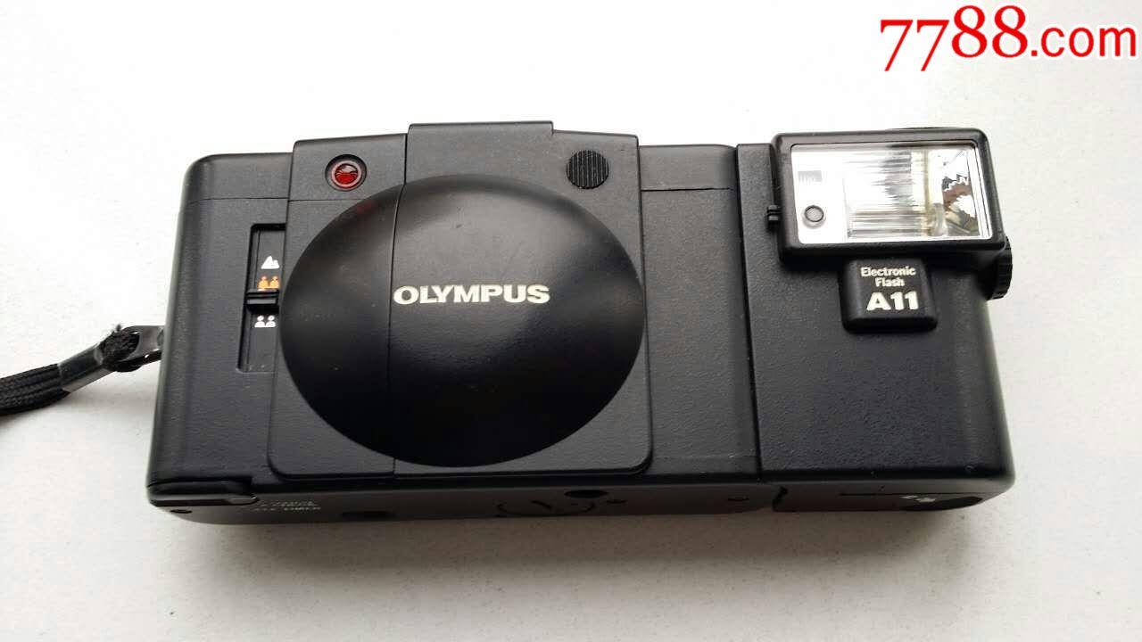 奥林巴斯xa2微型相机(连原配闪光灯)