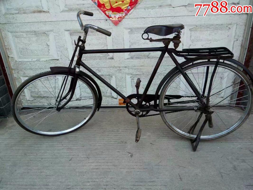 古董二八自行车,六十年代大金鹿自行车