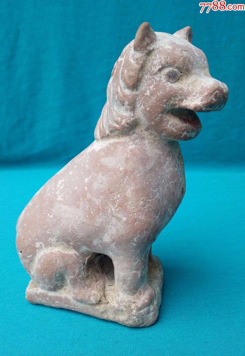 汉代陶动物摆件