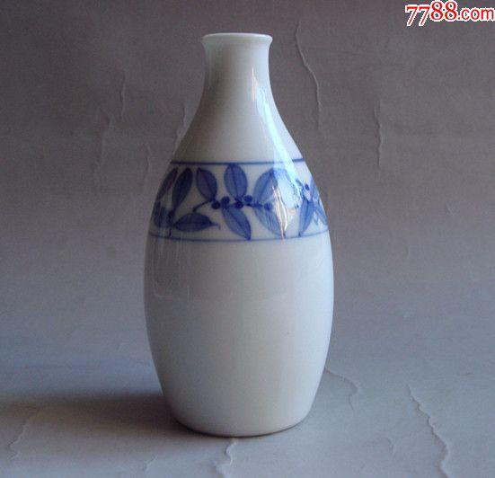 民国时期日本青花酒壶