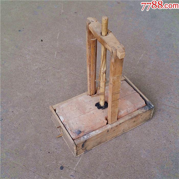 木器木制品木鼠夹捕鼠器老鼠笼灭鼠器老鼠夹6-qa120图片