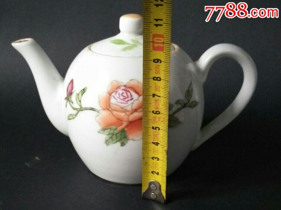 景镇手绘茶壶