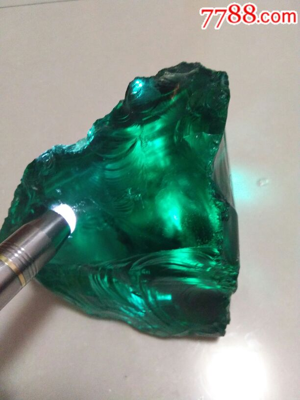 回礼绿色宝石玻璃宝石,13565639230v回礼天然袋特大号图片