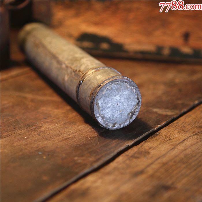 马口铁洋铁皮手工制铁筒带盖圆筒影视道具