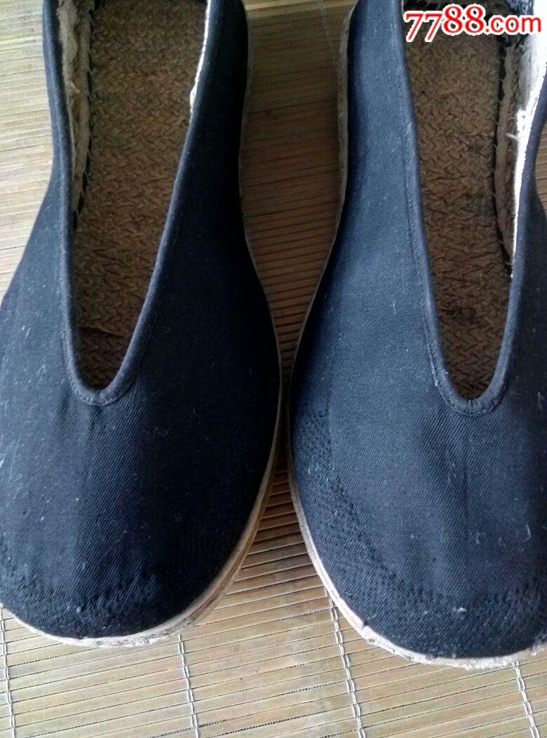 手工圆口布鞋