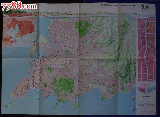 青岛-崂山旅游地图图片